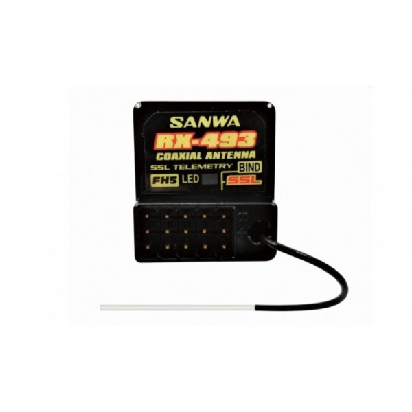 Sanwa RX-493 (2.4GHz,...